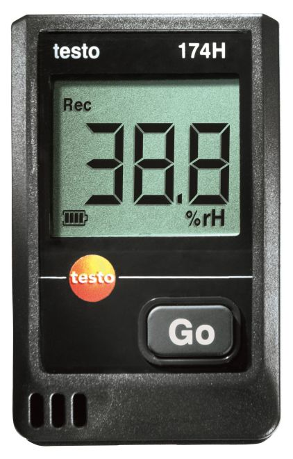testo 174H - Mini temperature and humidity data logger