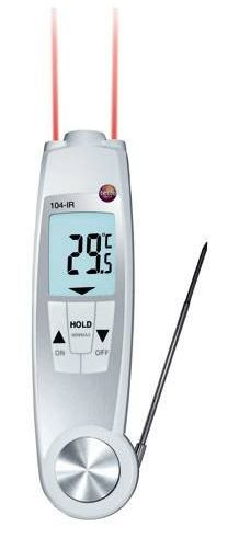 testo 104-IR - Dual purpose IR and penetration thermometer