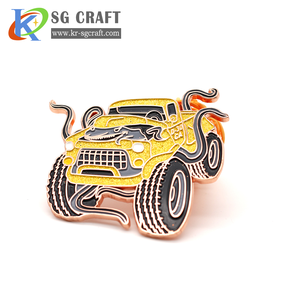 Custom high quality car badges with logo your own design