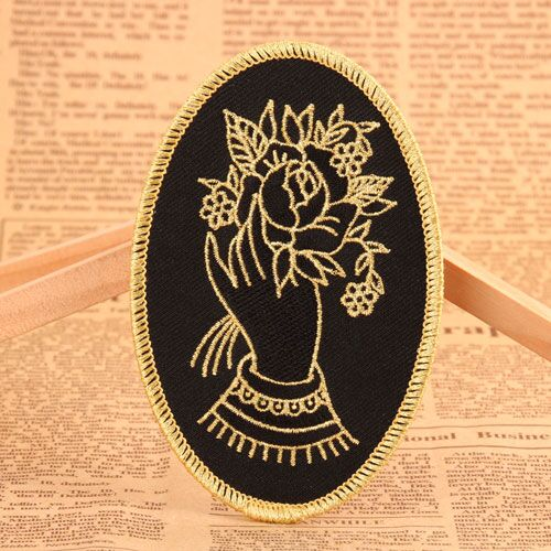 Golden Flower Wholesale Custom Patches