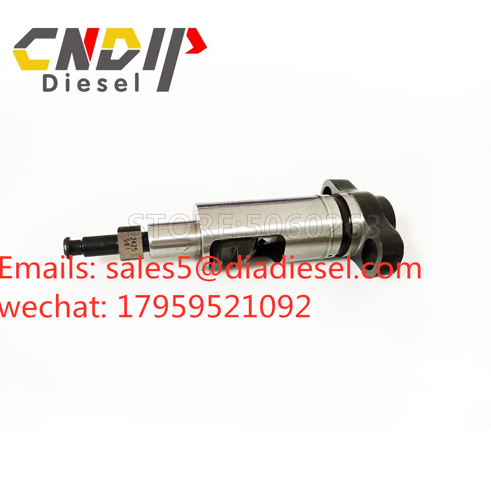 Good Quality Diesel T type Plunger 2455 981 Element 2455 981