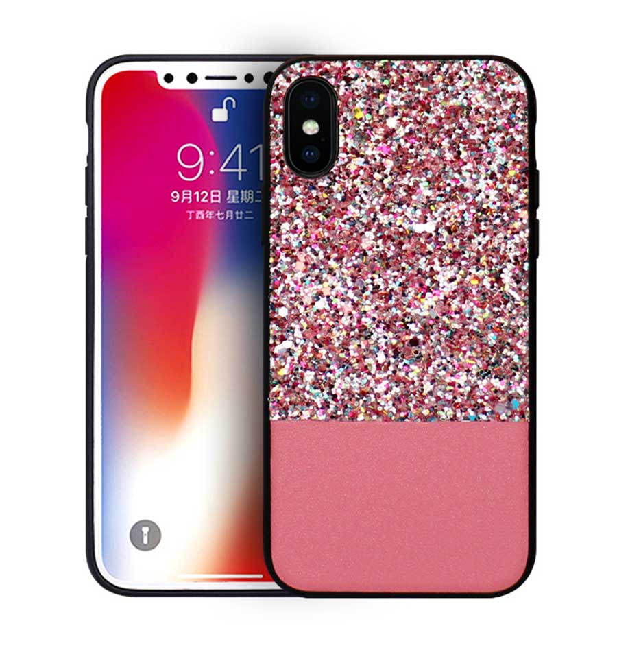 GLITTER PHONE CASES,Luxury Crystal Clear Phone Case,Phone Cases