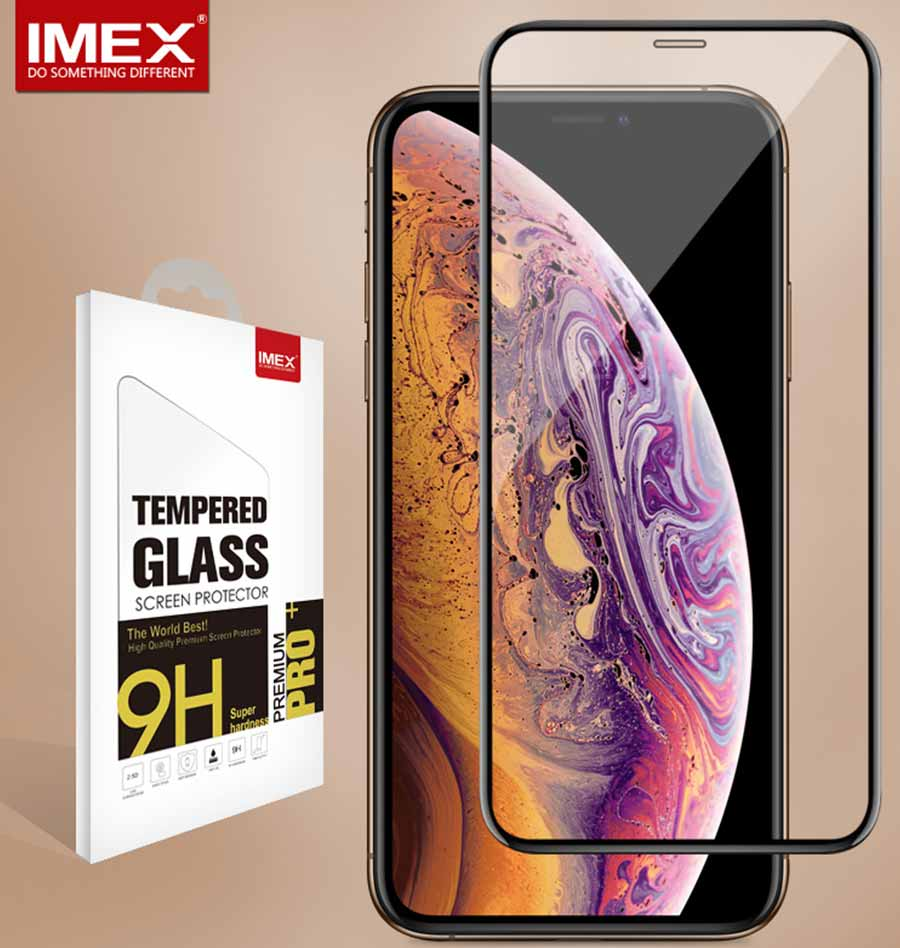 3D FULL COVERED GLASS FOR IPHONE XS,IPHONE 3D Curved Screen protector,Full Cover Tempered Glass
