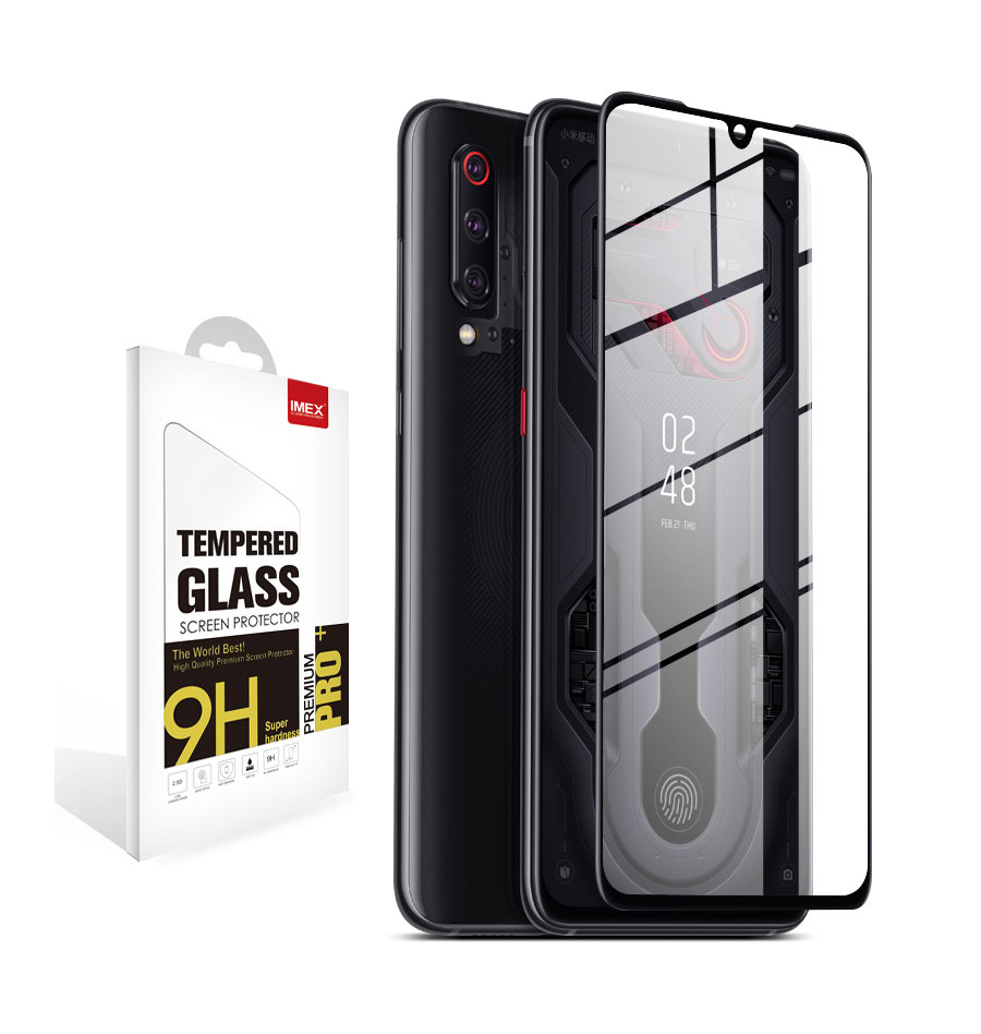 3D CURVED TEMPERED GLASS FOR XIAOMI 9,3D Curved Screen protector