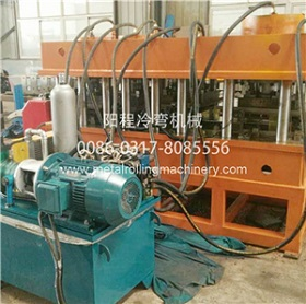 YC Changeable Metal Profile Roll Forming Machine
