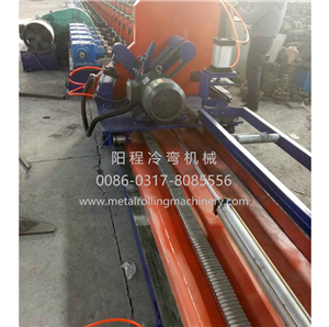 Perforated Solar Bracket Roll Forming Machine
