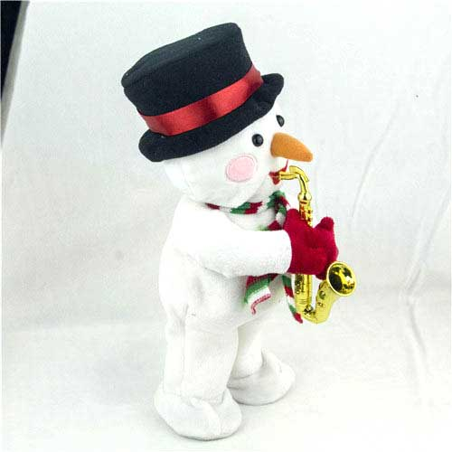 Bespoke 3 Assorted Christmas Electric Stuffed Toys Wholesale