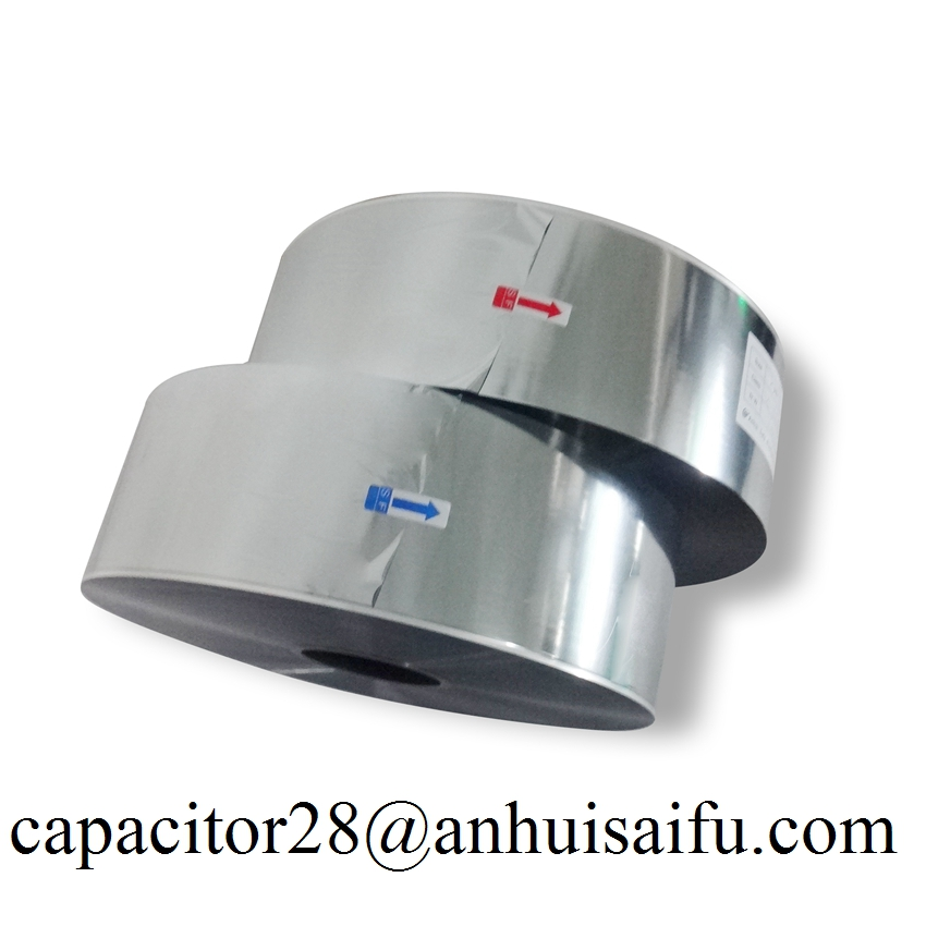 metallized film MPP film 2.2um for capacitor