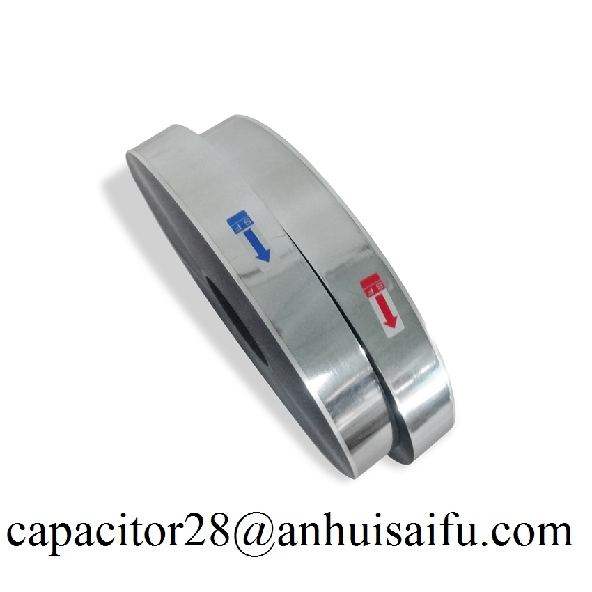 metallized MPET film 6um capacitor grade