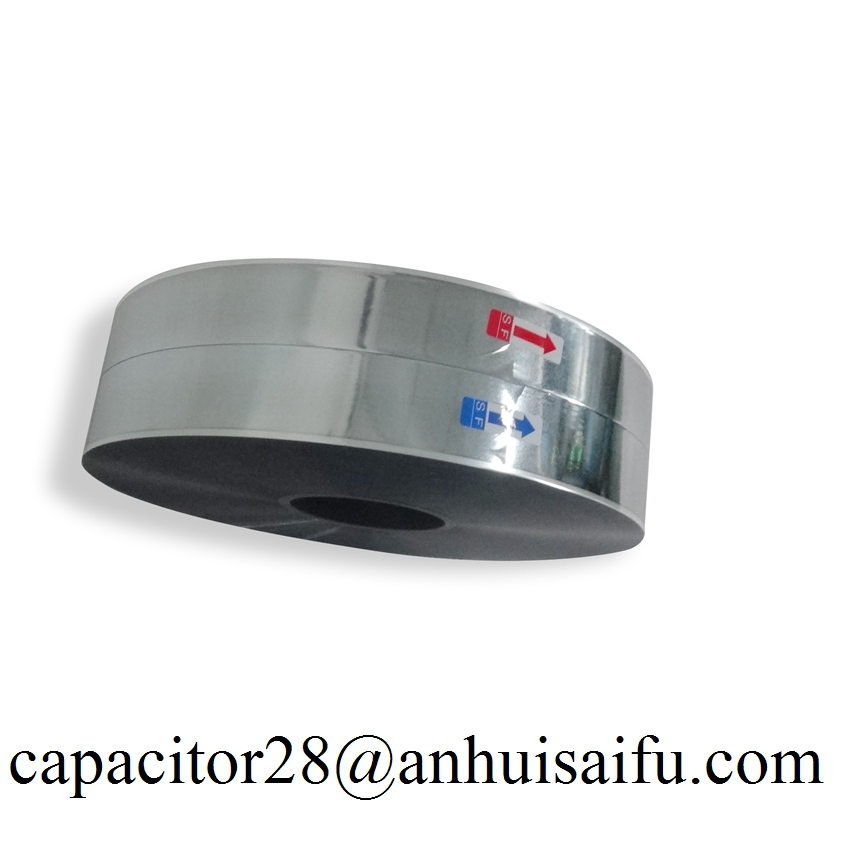 metalized polyester film capacitor film