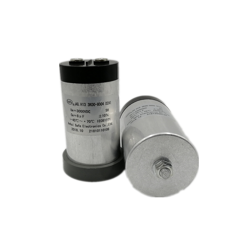Cylindrical Aluminum Can DC-Link Film Capacitor For UPS SVG Power Inverter