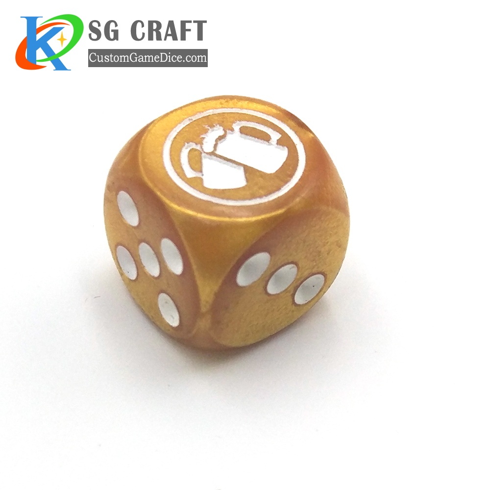 custom party game dice