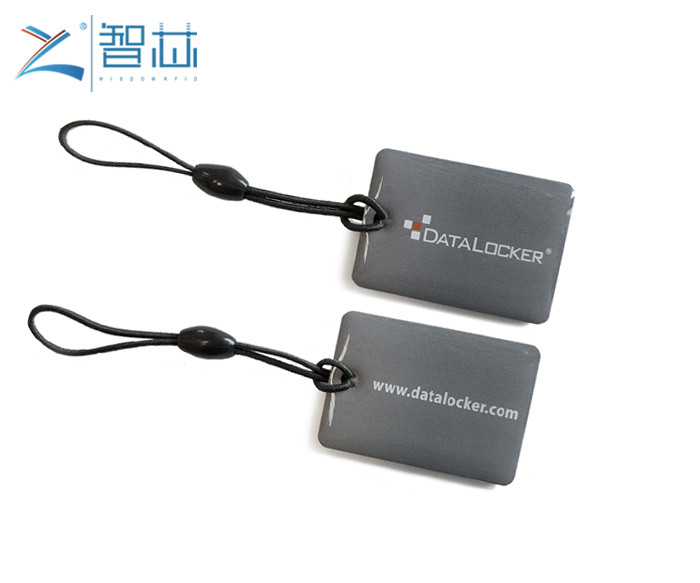 Epoxy RFID Key Tag  With Customer Printing