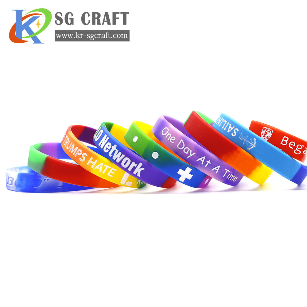 wholesale custom silicone wristband