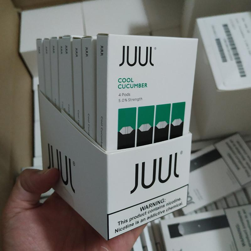 JUUL Pods  (Packs of 4) ALL FLAVOURS