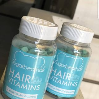 Sugar Bear Hair Vitamins Gummy Regrowth Hair