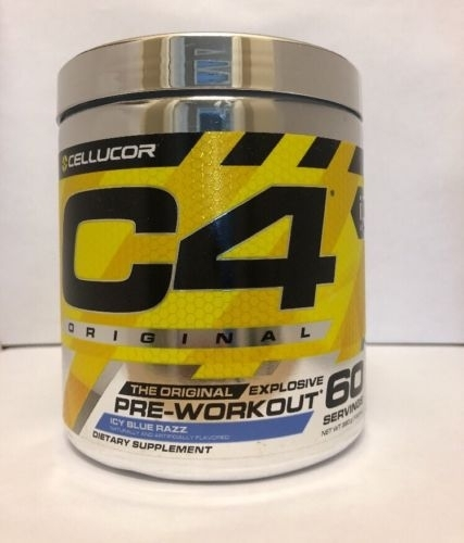 Original Cellucor C4 Pre-workout Supplement with different flavor