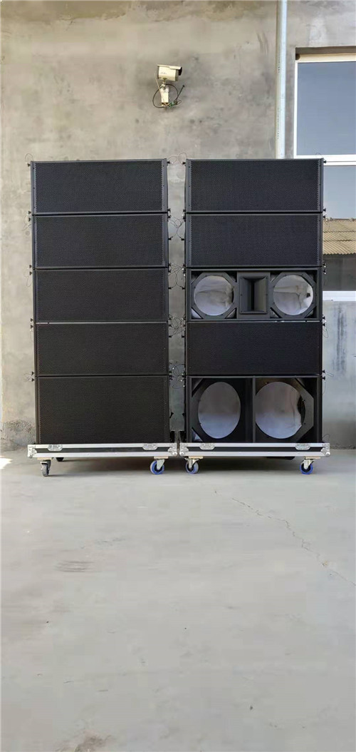China good quality fashion Double 12 inch line array speaker cabinet wholesale