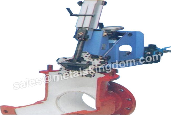 DN200-600mm 8-24 M600 Portable Gate Valve Grinding Machine