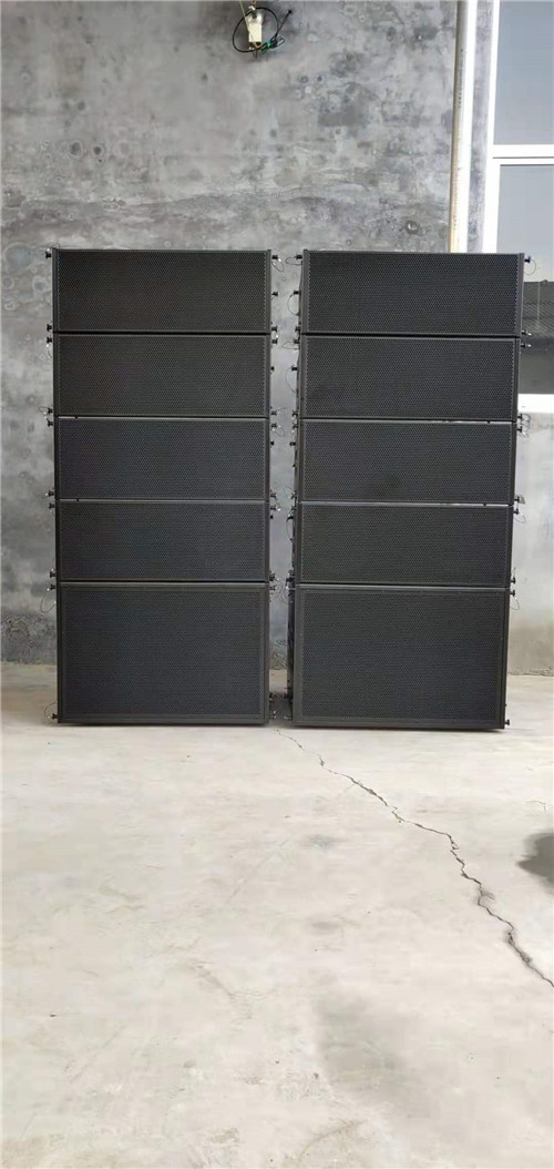2019 hot selling fashion Double 10-inch line array speaker cabinet wholesale