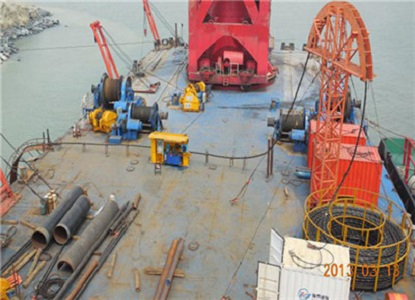 Sinochem Quanzhou PetroChemical Submarine/Offshore Cable Laying (Year 2013)
