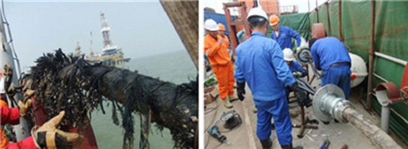 Roc Oil Zhaodong Oil Field Cable Repairing (Year 2012)