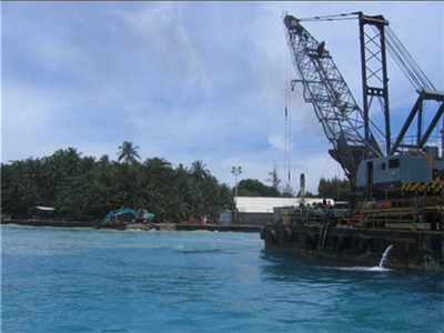 CNOOC Indonesia SES Gas Submarine/Offshore Pipeline Landing Project (Year 2005)