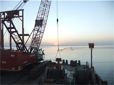 Yuedong Oil Submarine/Offshore Pipeline Post-Trenching Project (Year 2011-2012)