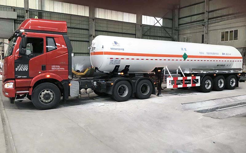 LCO2 Semi-trailer
