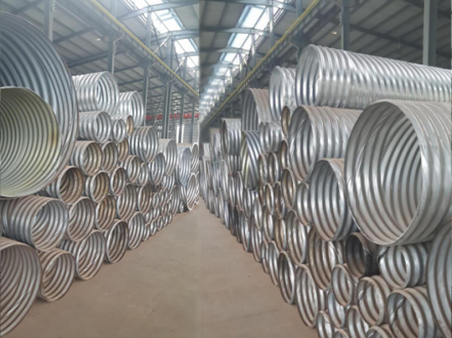 Rolled corrugated metal pipe  Corrugated Culvert Pipe  metal corrugated culvert pipe