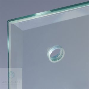 Tempered Glass With Drilling Hole