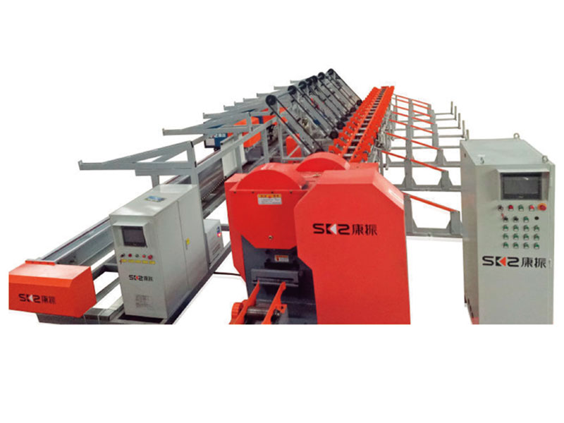 Space saving Integrated Rebar Cutting