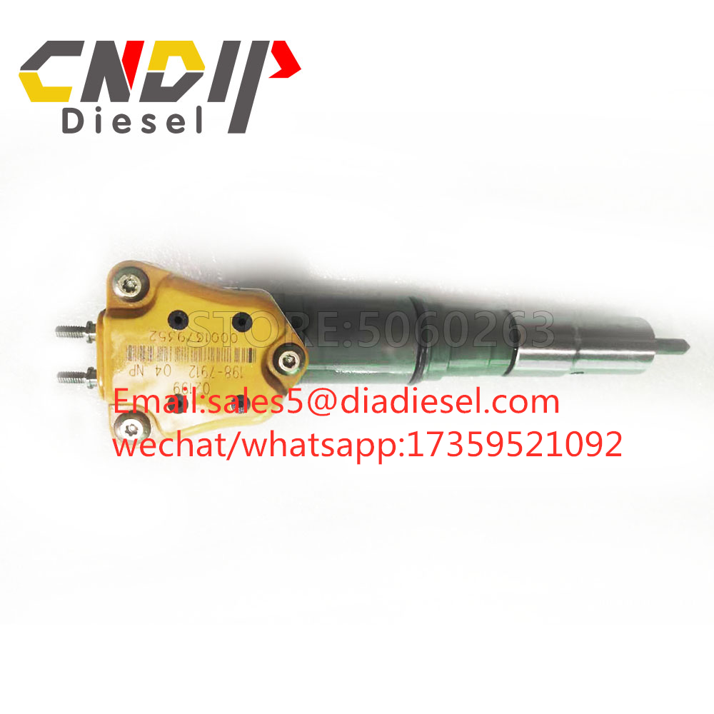 Diesel Fuel Common Rail EUI Injector 198-7912 1987912 198 7912