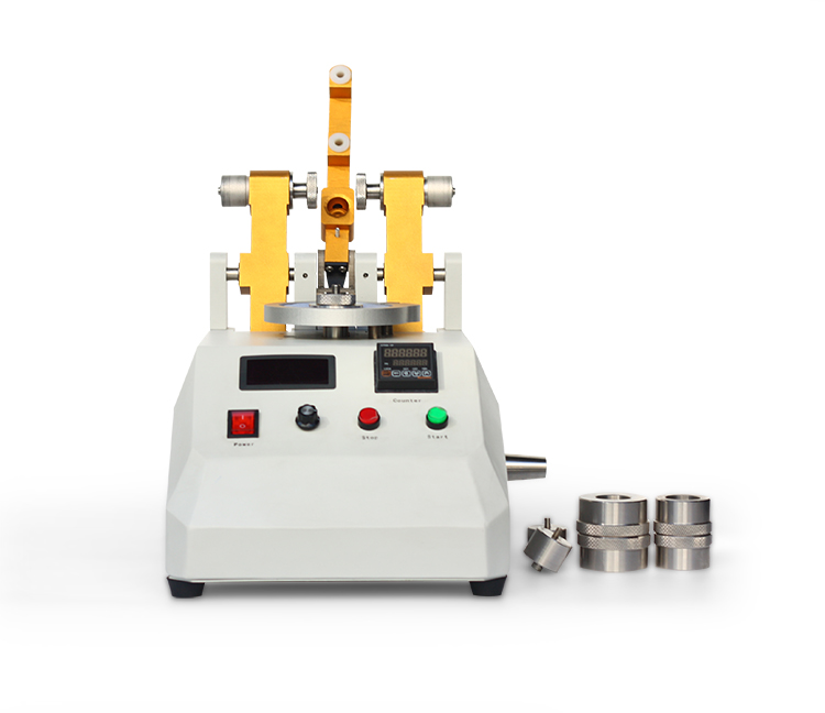 Taber abrasion resistance test machine from qinsunlab