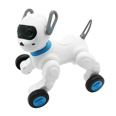 Intelligent Robot Dog With Bracelet Blue