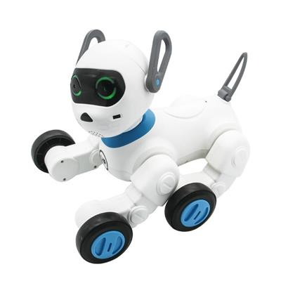 Intelligent Control Robot Dog With Bracelet Pink
