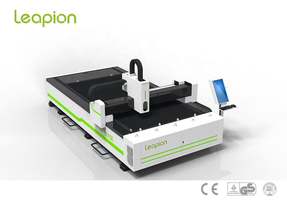 LF-3015E 500w Metal fiber laser cutting machine for stainless steel,carbon steel,aluminum,copper from shandong leapion