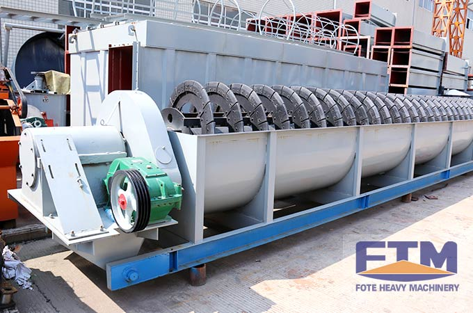 New-type Spiral Sand Washing Machines