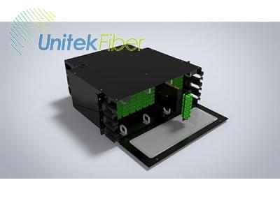 288 Fibers Rack Mount Optical Distribution Fiber(ODF) Panel Box
