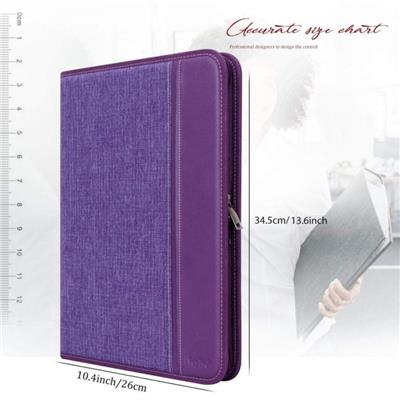 A4 Resume Padfolio Folder With Notepad
