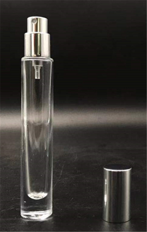 high quality hot sale perfume round tube cling neck glass bottle 10ML
