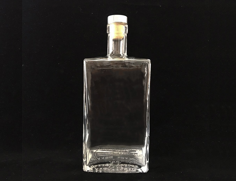 750ml Spirit Vodka Glass Bottle