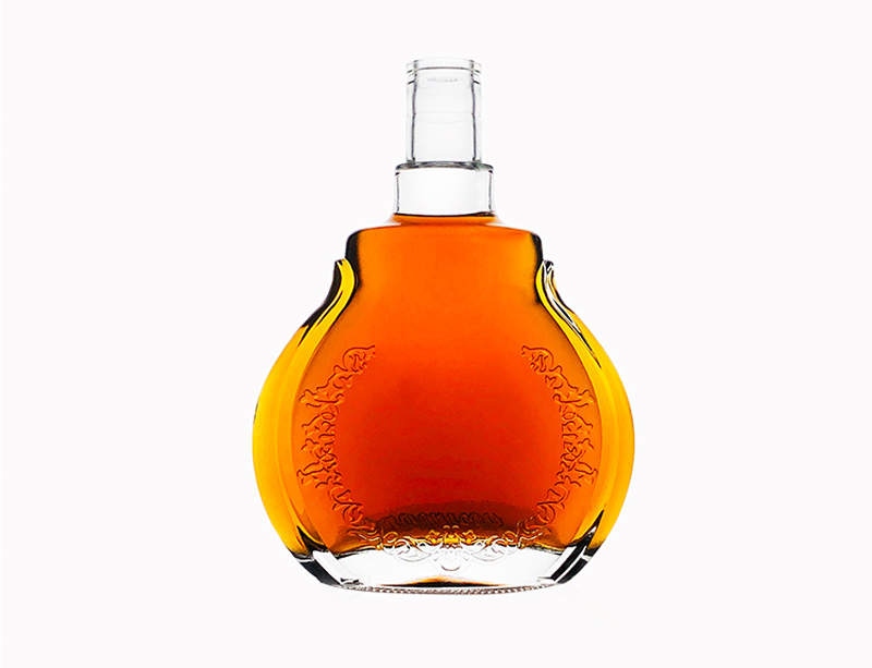 Brandy Glass Bottle