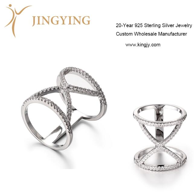 Sterling silver jewelry ring pendant bangle earrings design manufacturer