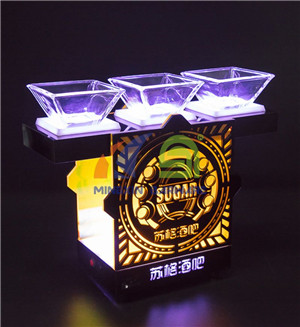 Snack Dish LED Serving Tray  led serving tray for Nightclub