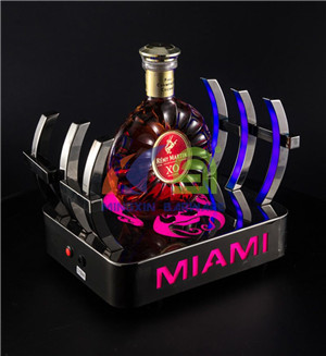 Beijing Opera Mask Bottle Glorifier  LED bottle presenter for nightclub