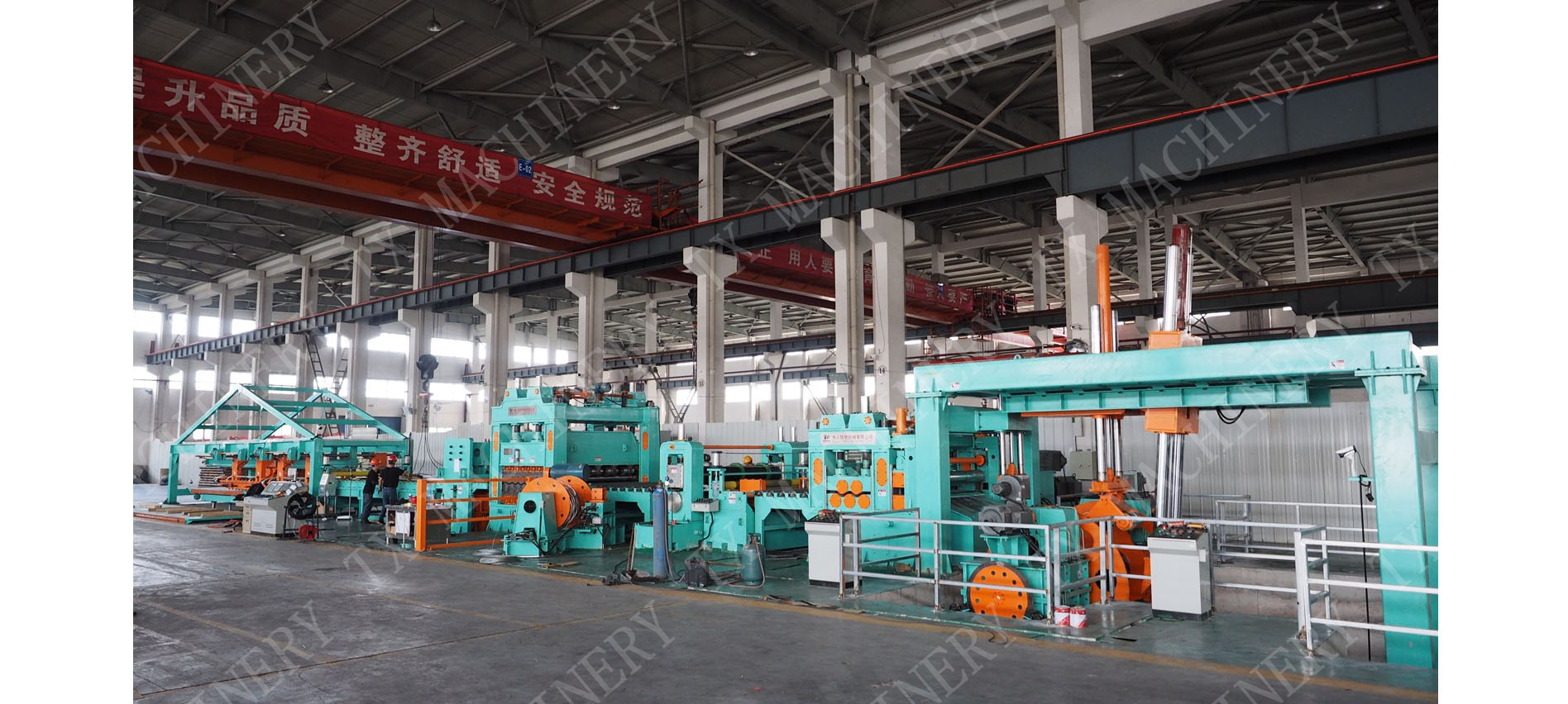 Heavy Gauge Cut To Length Line for Stainless Steel CR HR