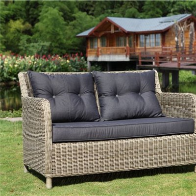 Outdoor Rattan Loveseat