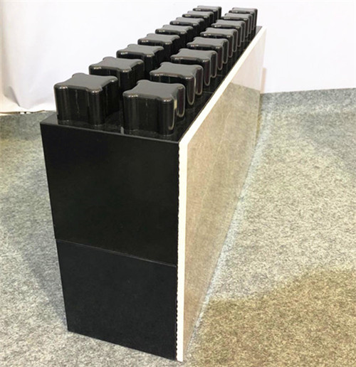 outdoor and indoor light weight rapid construction bricks engineered tile for decorative sound proof wall