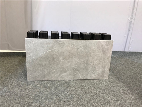 Rapid construction brick prefabricated light weight  blocks tile for wall build